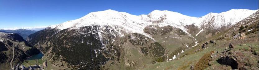 Estado de la montaña el lunes
