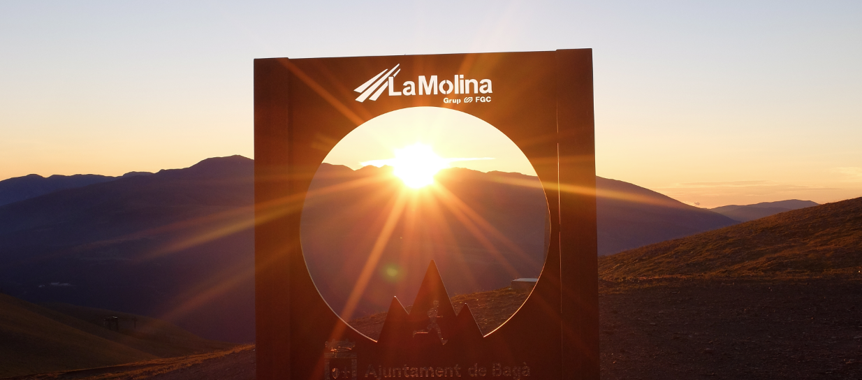 Sortida del sol al Niu de l'Àliga - La Molina