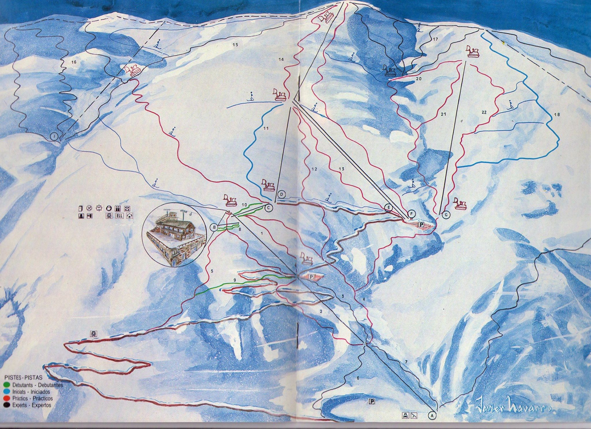 mapa pistes llessuí