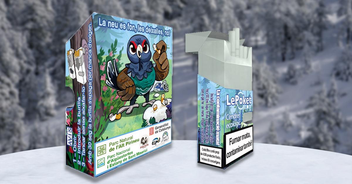 Cendrer ecologic Pallars
