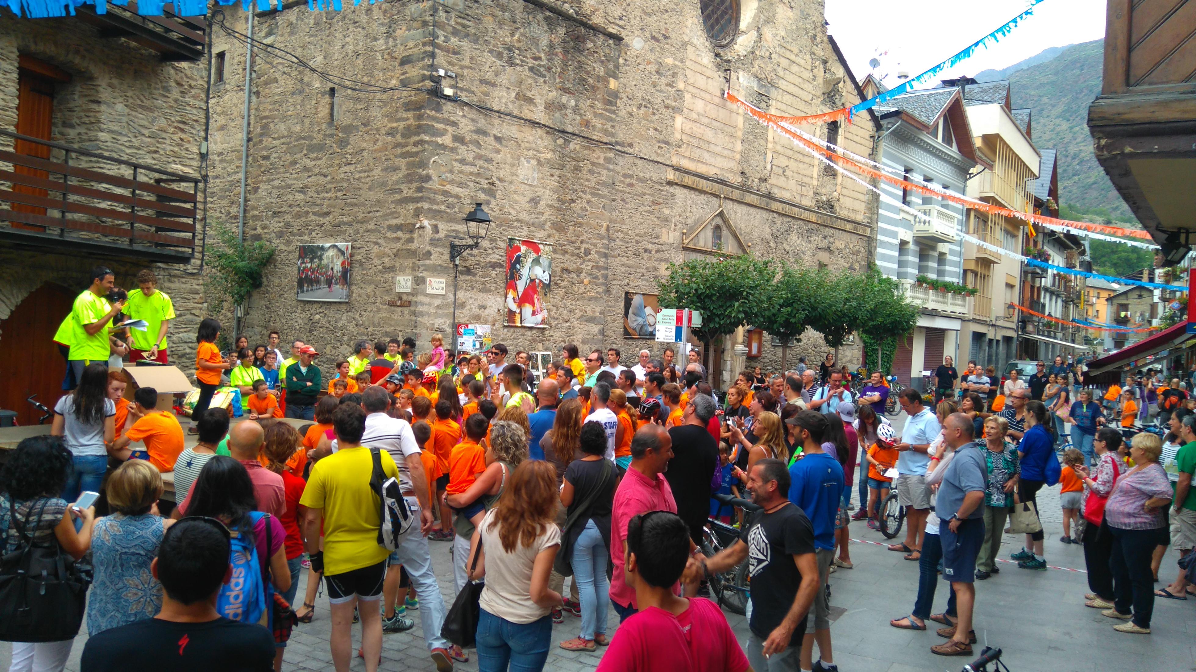 Festa Major Esterri. Comissio de Festes