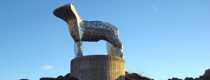 Gos d'Atura escultura