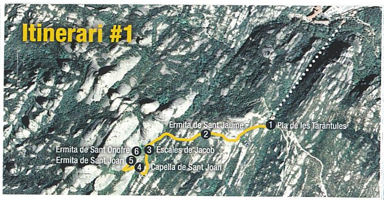 Ruta per les ermites de Sant Joan i Sant Onofre