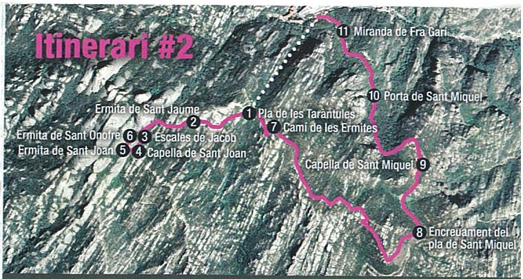 Ruta pel Camí de Sant Miquel Montserrat