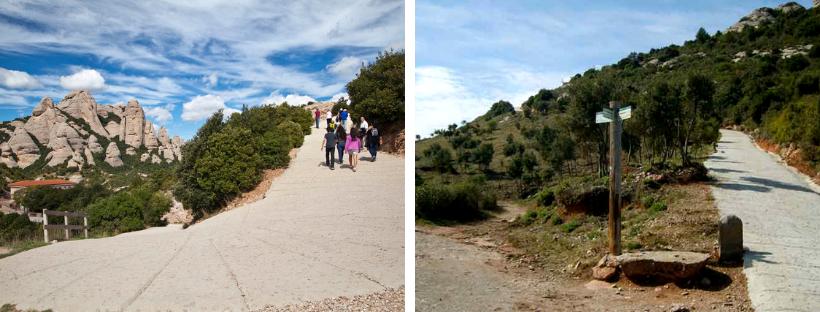Ruta camino Sant Miquel Montserrat