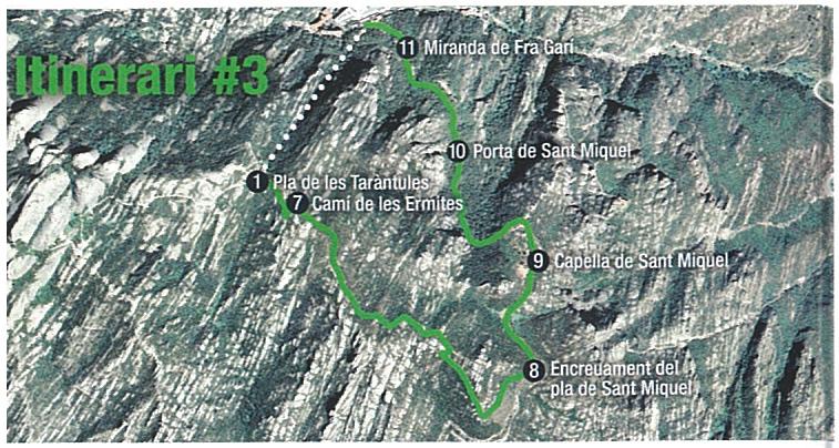 Ruta de Sant Miquel i Monestir de Montserrat
