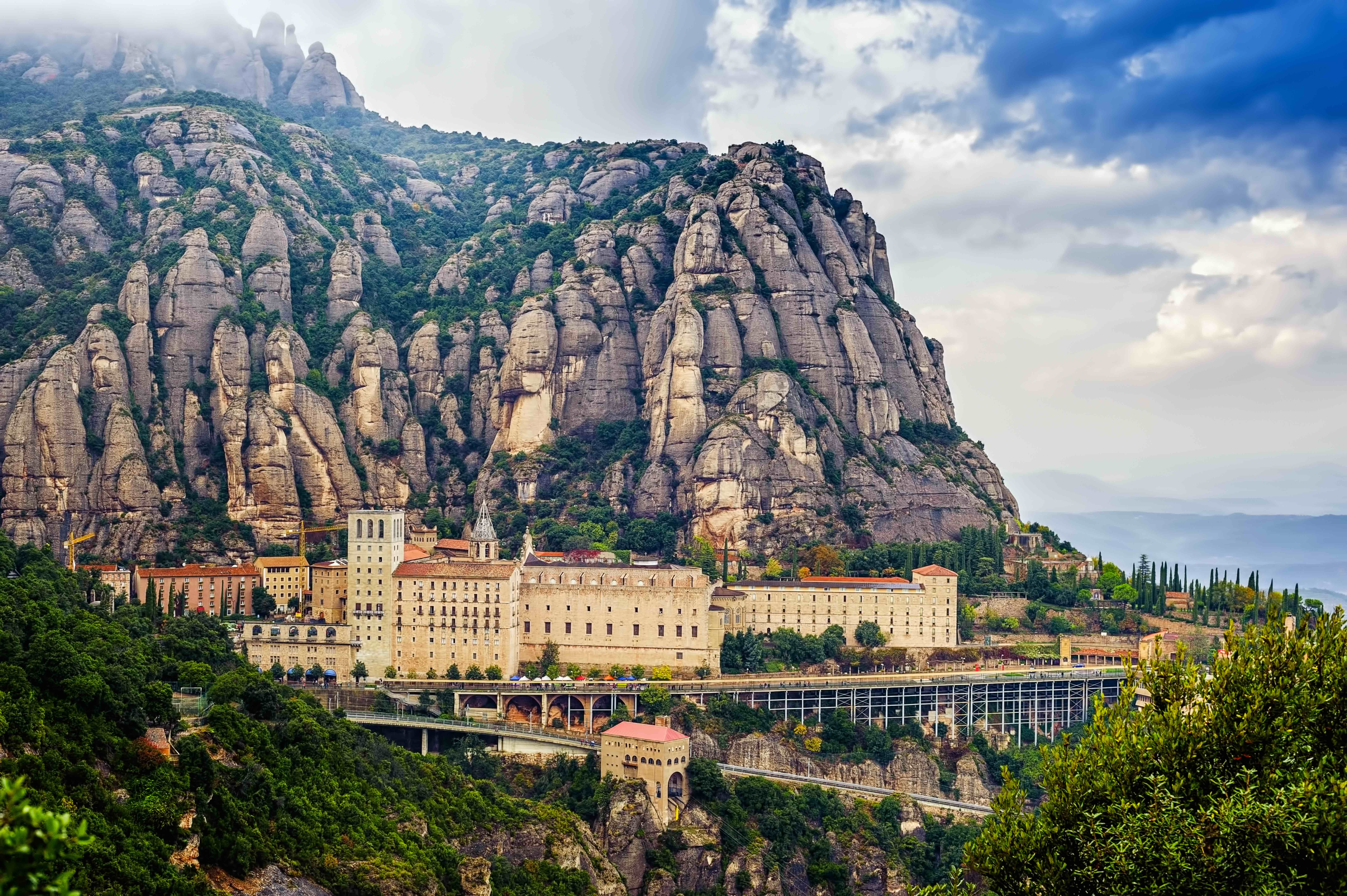 Carte Barcelone Montserrat.How To Get To Montserrat From Barcelona