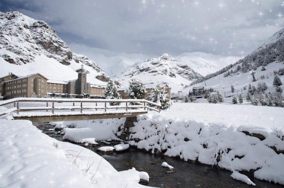Quieres Pasar La Navidad En El Hotel Vall De Núria