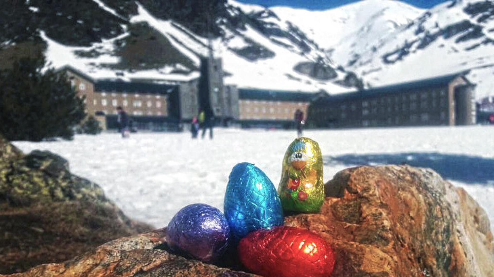Huevos de Pascua en Vall de Núria