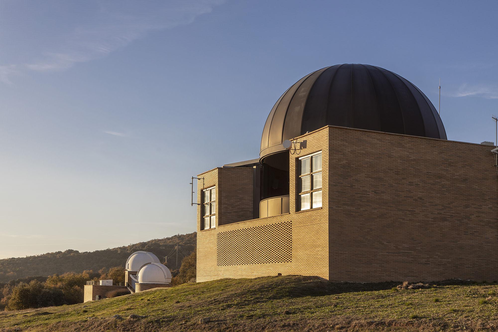 El recinte del Parc Astronòmic Montsec