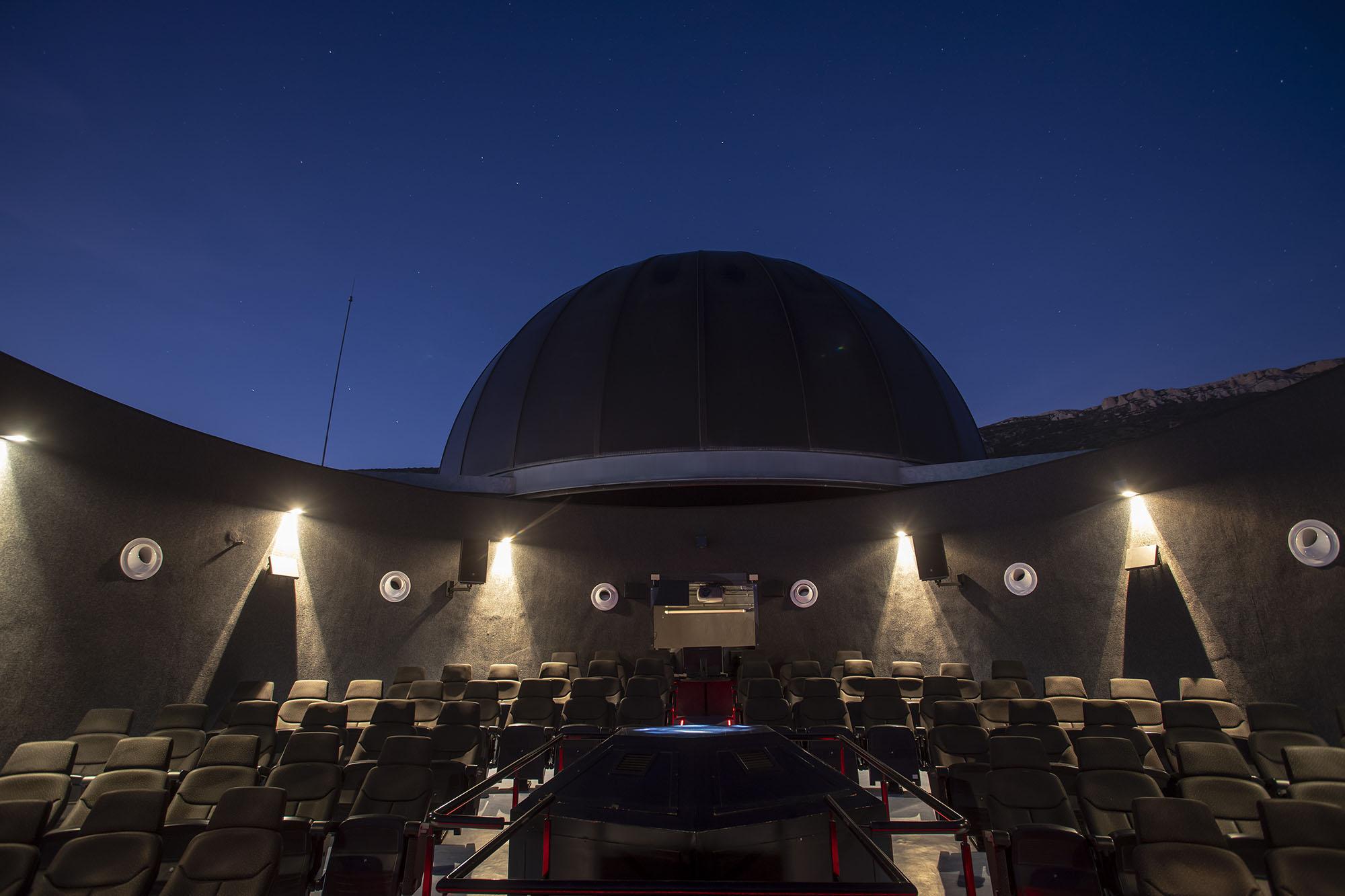 Planetari 'Ull del Montsec' Parc Astronòmic Montsec